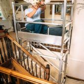 Alloy Staircase Scaffolds (For Hire)